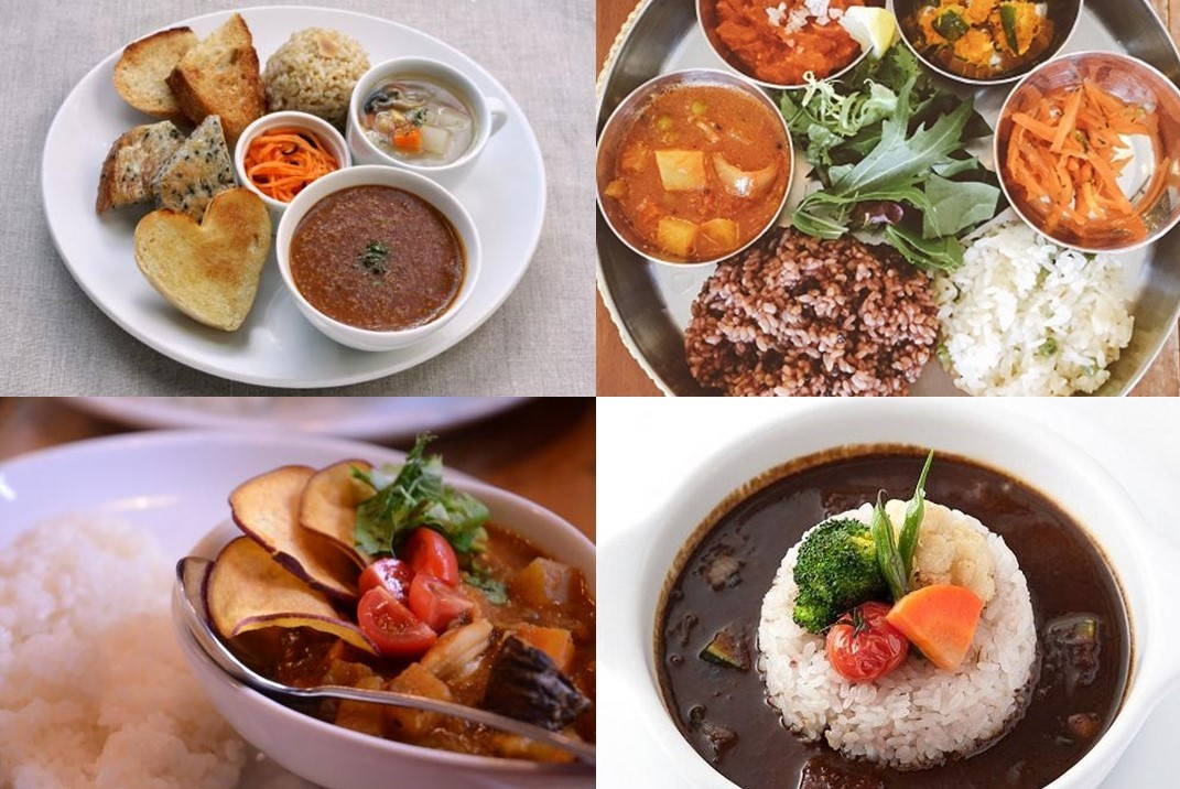 Love curry? Eat healthy curries! Eight excellent vegan curries at selected restaurants in Tokyo.